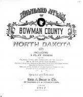 Title Page, Bowman County 1917