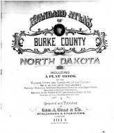 Title Page, Burke County 1914