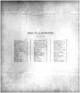 Index to Illustrations, Eddy County 1910