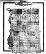 Emmons County Outline Map, Emmons County 1916 Microfilm