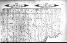 Americus Township, Walle Township, Bentru Township, Reynolds, Thompson - Above, Grand Forks County 1893