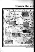 North Dakota State Map - Left, Grand Forks County 1893