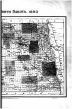 North Dakota State Map - Right, Grand Forks County 1893
