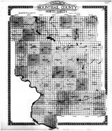 Mountrail County Outline Map, Mountrail County 1917