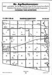 Sargent County Map Image 026, Ransom and Sargent Counties 1996