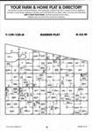 Sargent County Map Image 028, Ransom and Sargent Counties 1997