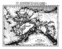 Alaska Map, Richland County 1897 Microfilm