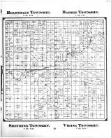 Helendale Township, Barrie Township, Sheyenne Township, Viking Township, Richland County 1897 Microfilm