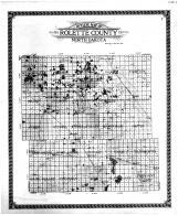 Rolette County Outline Map, Rolette County 1910