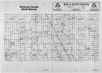 Index Map 1, Stutsman County 1989