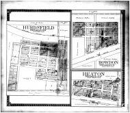 Hurdsfield, Bowdon, Heaton, Wells County 1911 Microfilm