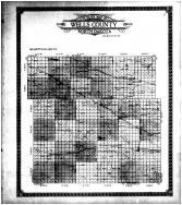 Well County Outline Map, Wells County 1911 Microfilm