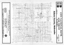 Index Map, Adams County 1987 Published by Farm and Home Publishers, LTD