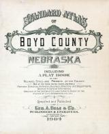 Title Page, Boyd County 1904