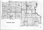 Thurston County Index Map, Dakota and Thurston Counties 1979