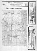 Index Map, Gage County 1987