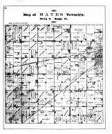 Hayes Township, Minden, Kearney County 1894