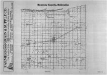 Index Map, Kearney County 1988