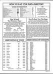 Index and Legend, Knox County 2000 Published by Farm and Home Publishers, LTD