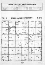 Green Garden T21N-R2W, Madison County 1989