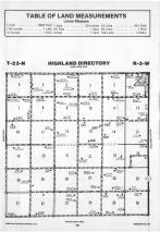 Highland T23N-R3W, Madison County 1989