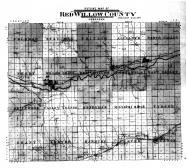 Red Willow County Outline Map, Red Willow County 1905