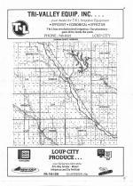 Index Map, Sherman County 1978