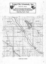 Index Map, Sherman County 1982