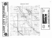 Index Map, Sherman County 1985