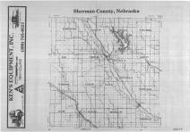 Index Map, Sherman County 1988