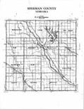 Index Map, Sherman County 1995 - 1996