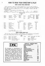 Index and Legend, Valley County 1985 Published by Directory Service Company