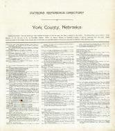 Directory 1, York County 1911