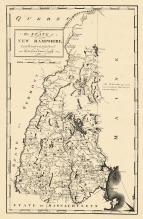 New Hampshire State Map 1794, New Hampshire State Map 1794