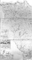 Burlington County 1859 Wall Map 36x65, Burlington County 1859 Wall Map
