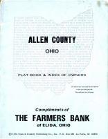 Title Page, Allen County 1974