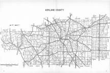 Index Map, Ashland County 1977