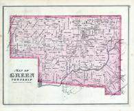 Green Township, Clifton, Pitchin, Courtsville, Clark County 1875