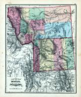 Montana and Wyoming, Clark County 1875