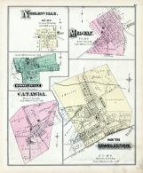 Noblesville, Medway, Donnelsville, Catawba, South Charleston, Clark County 1875