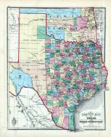 Texas and Indian Territory, Clark County 1875