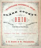 Title Page, Clark County 1875