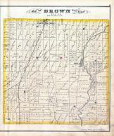 Brown Township, Eden Station, Delaware County 1875