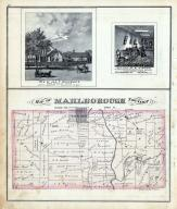 Marlborough Township, Norton, Olentangy River, Delaware County 1875