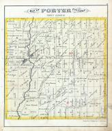 Porter Township, Olive Green, East Liberty, Culver Creek, Delaware County 1875