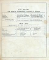 Table of Contents 002, Delaware County 1875