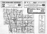 Index Map, Delaware County 1969