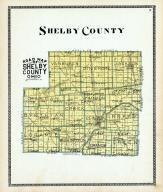 Shelby County Map, Shelby County 1900