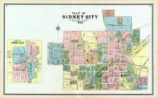 Sidney City - North, Shelby County 1900