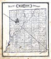 Madison Township, Pioneer, Williams County 1874